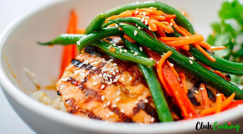 Miso Salmon 🥘