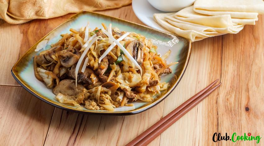 Moo Shu Chicken 🥘