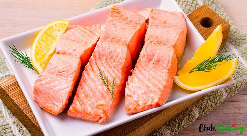 Poached Salmon 🥘