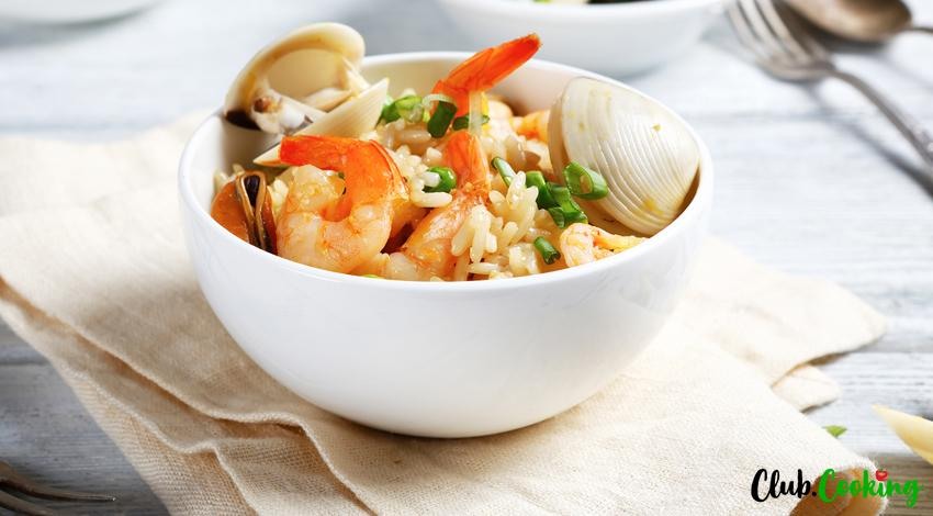 Seafood Risotto 🥘