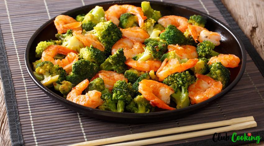 Shrimp And Broccoli 🥘