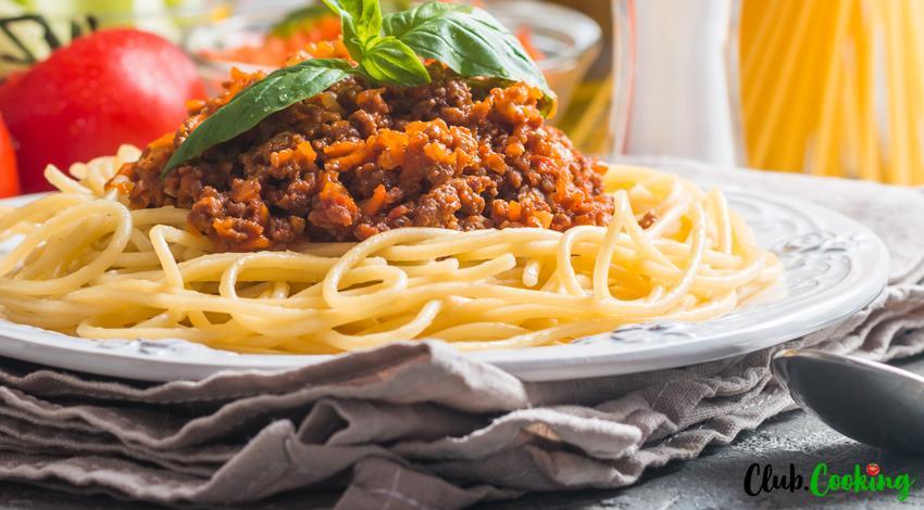 Spaghetti Meat Sauce 🥘