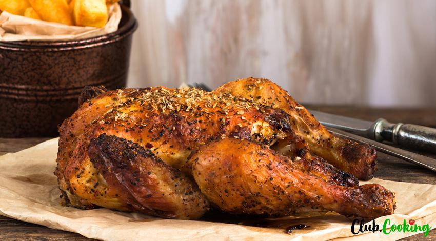 Spatchcock Chicken 🥘
