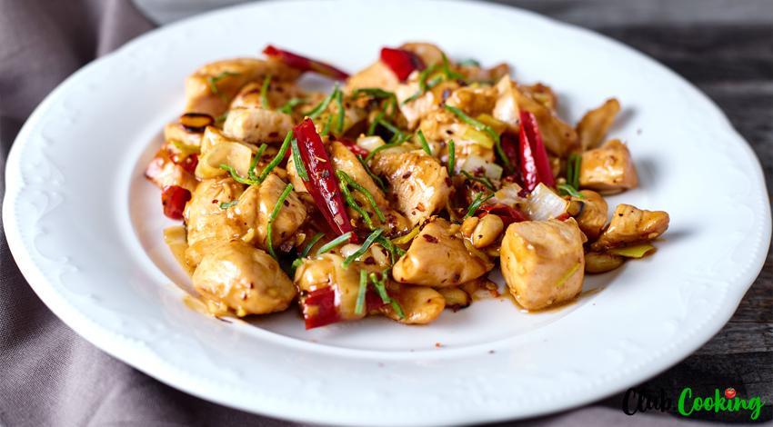 Szechuan Chicken 🥘