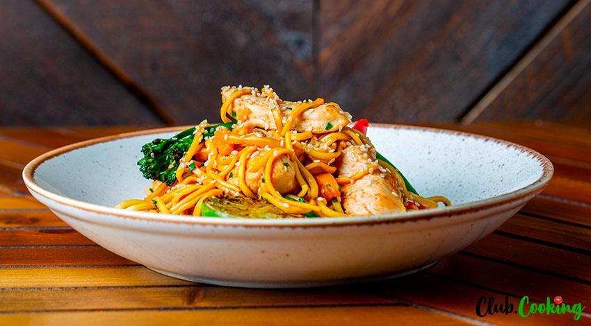 Teriyaki Noodles 🥘