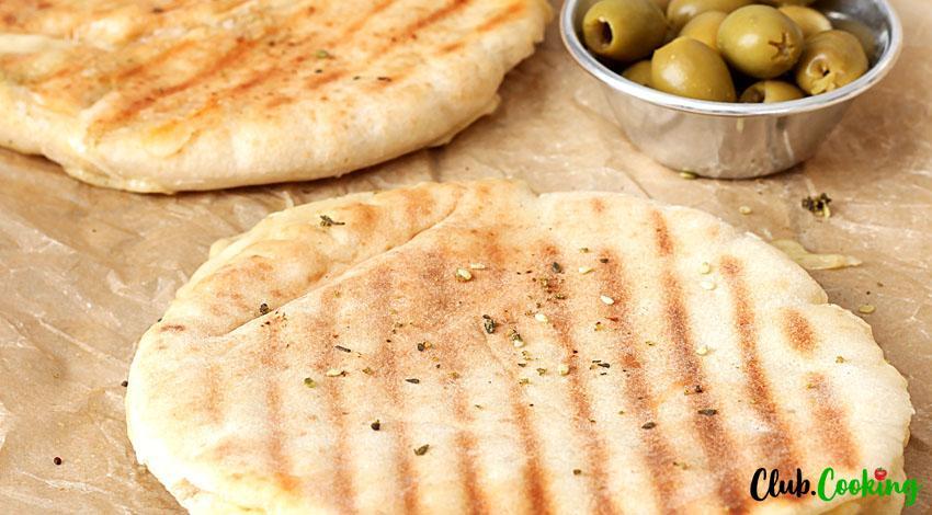 Gluten Free Pita Bread 🥘