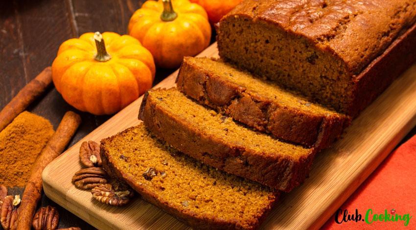 Gluten Free Pumpkin Bread 🥘