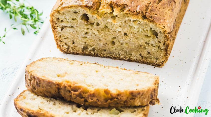 Gluten Free Zucchini Bread 🥘