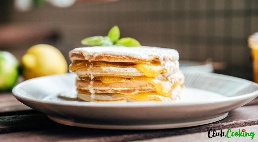 Lemon Ricotta Pancakes 🥘