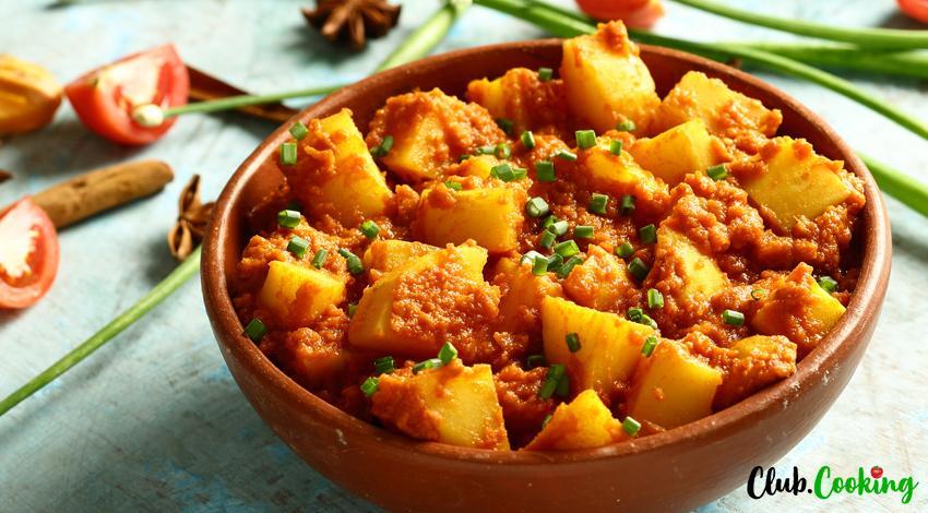 Potato Curry 🥘