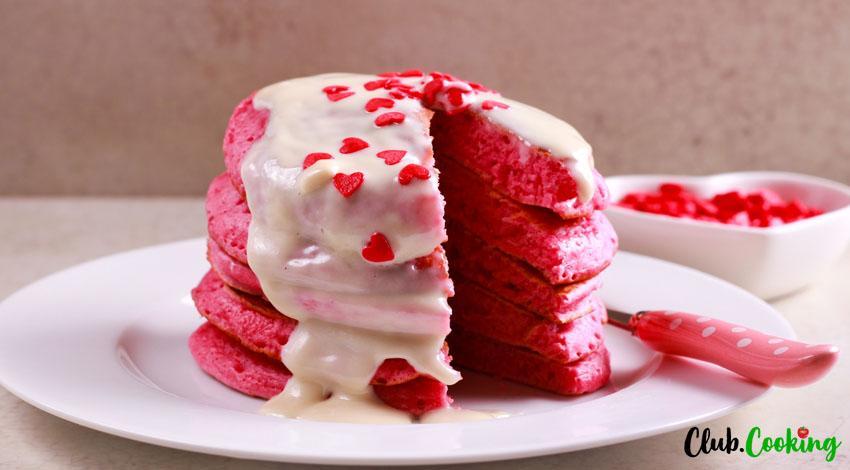 Red Velvet Pancakes 🥘
