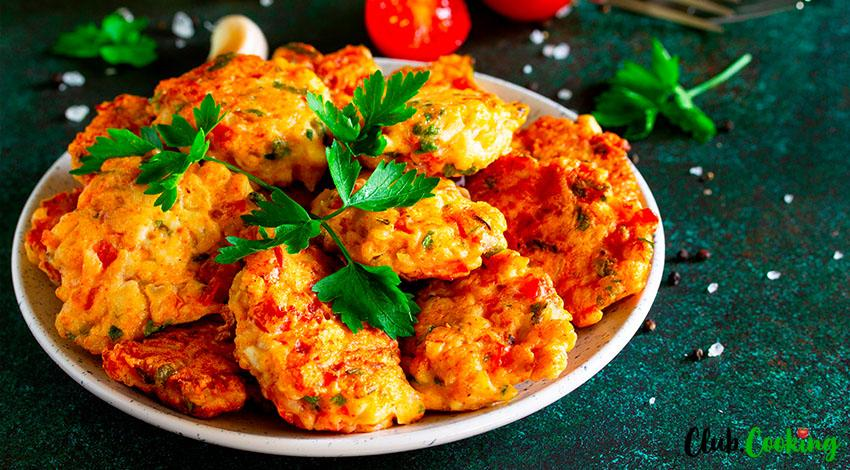 Chicken Fritters 🥘