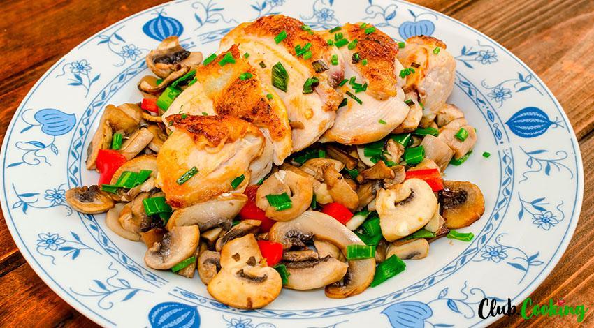 Chicken Madeira 🥘