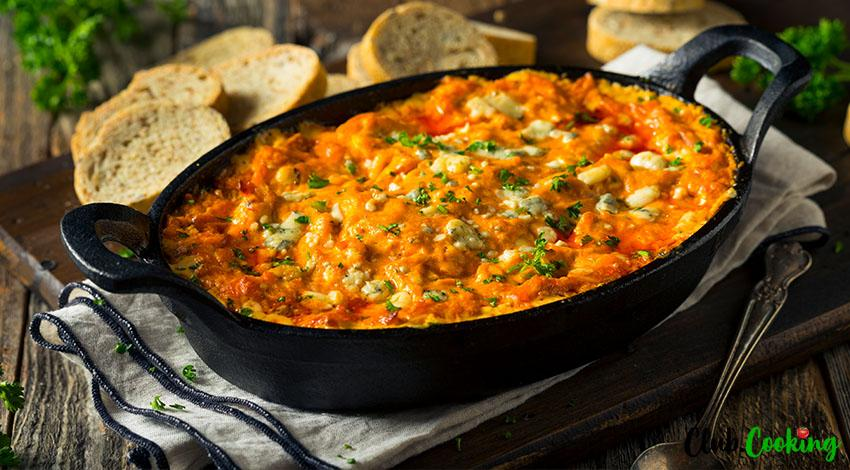 Franks Buffalo Chicken Dip 🥘