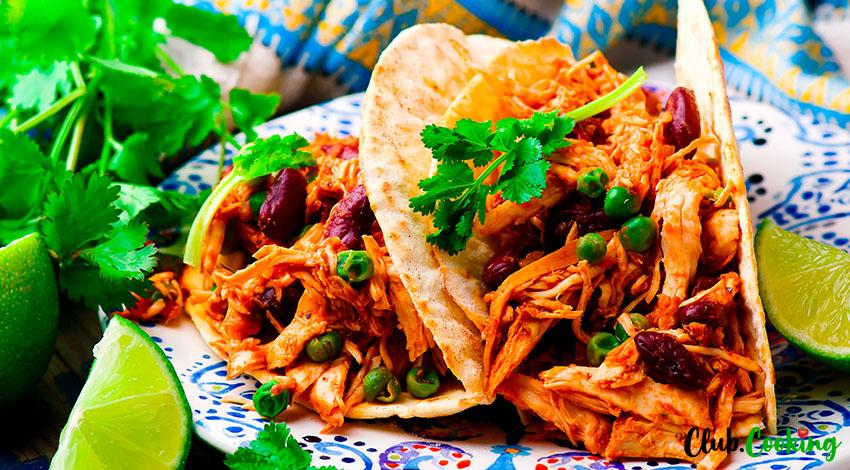 Instant Pot Chicken Tacos 🥘