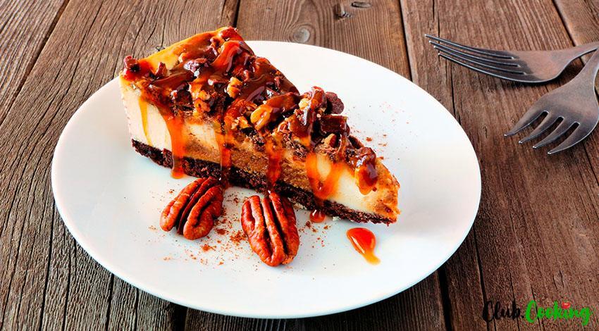 Pecan Pie Cheesecake 🥘