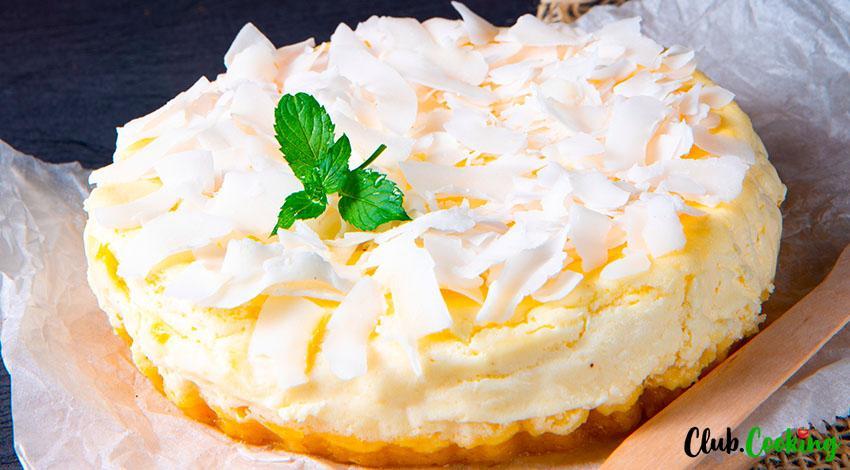 Ricotta Pie 🥘