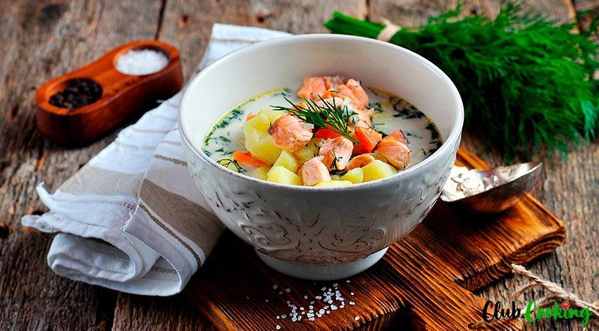 Salmon Soup 🥘