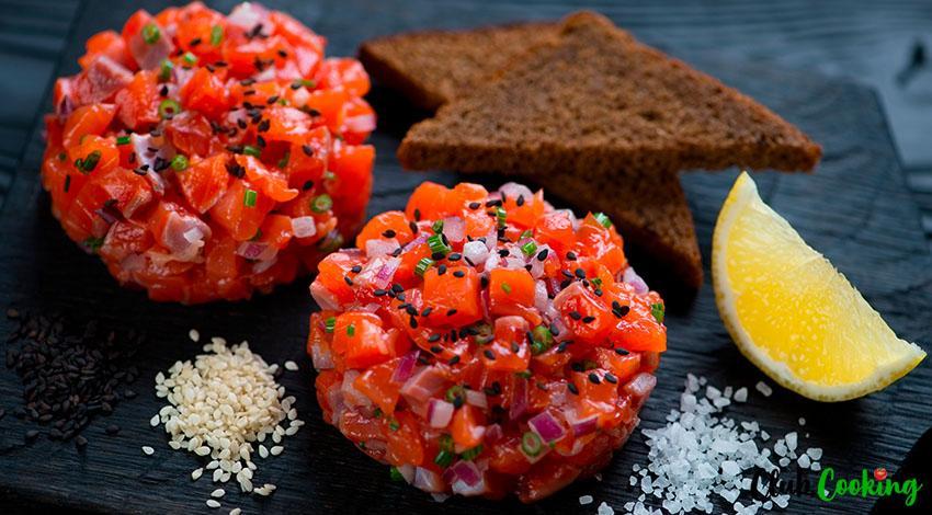 Salmon Tartare 🥘